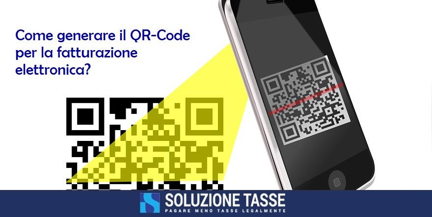 generare qr code fattura elettronica