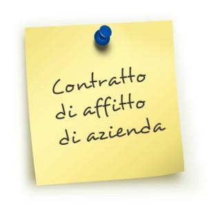 contratto di affitto d'azienda durata